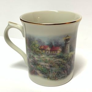 Vintage Lenox Footprints Collector Porcelain Cup